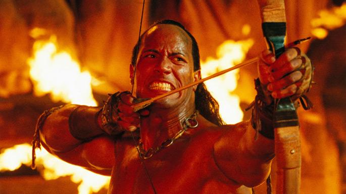 Dwayne 'The Rock' Johnson as The Scorpion King, Photo: Seyircikedi.com